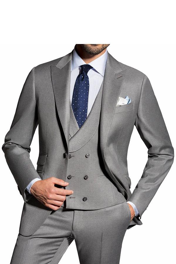 Costume gris trois pièces By Monsieur