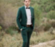costume vert sapin