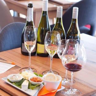 Plumm glass wine tasting