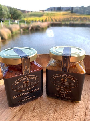 Local Country Larder Jams and Relish