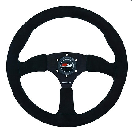 Motamec Race Rally Semi Dish Steering Wheel