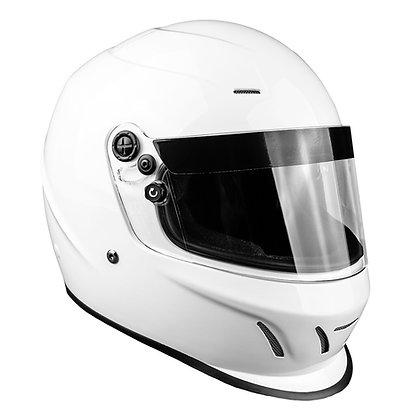Typhoon Helmet - Snell Approved - White
