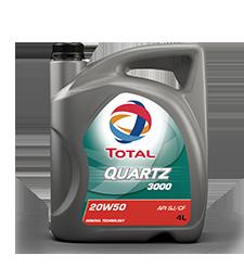 Total Quartz 3000 20W50 Engine Oil 4L