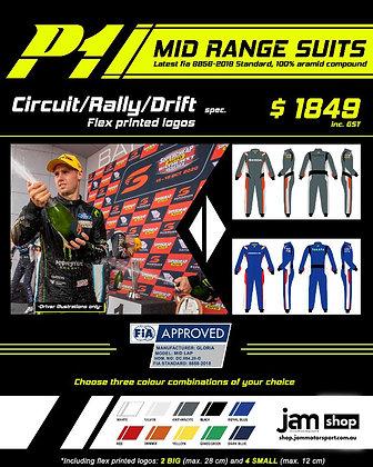 CUSTOM P1 Lap Race Suit