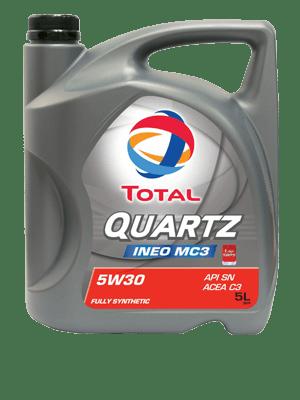Total Quartz Ineo MC3 5W30 Engine Oil 5L