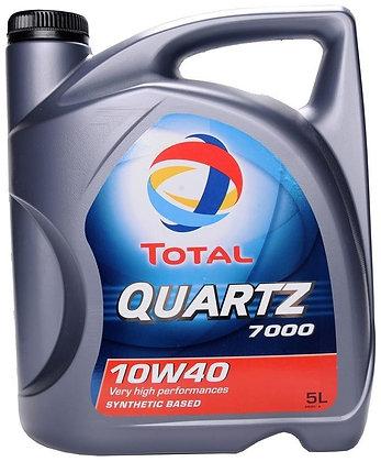 Total Quartz 7000 10W40 Engine Oil 5L