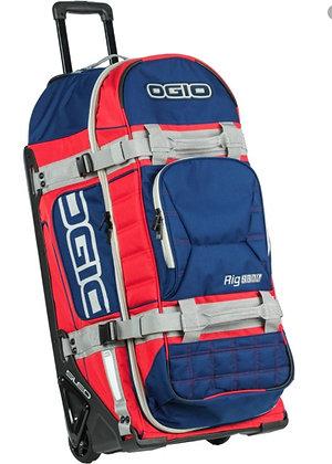 OGIO Rig 9800 Gear Bag - Blue Grey Red