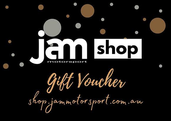 Gift Vouchers - Jam Motorsport Shop