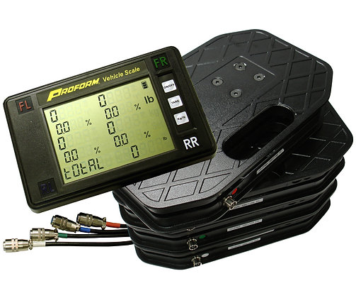 Digital Wired Racing Scales - Proform