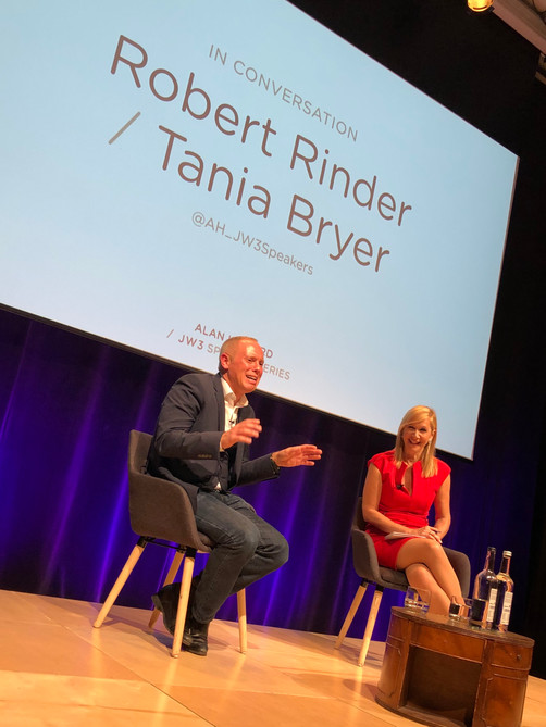 All rise! Tania meets Judge Rinder