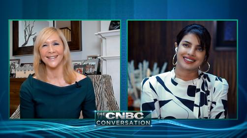 Tania talks to Priyanka Chopra Jonas