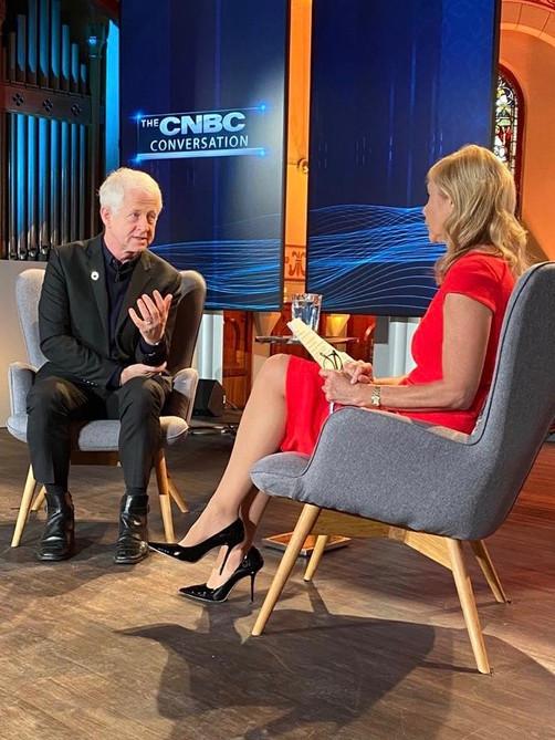 Premieres tonight: The CNBC Conversation: Richard Curtis (video)