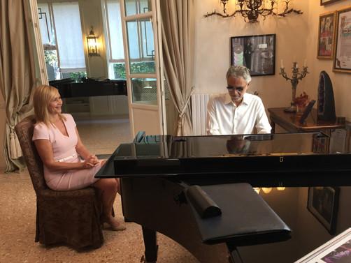 Tonight: Tania's Tuscany Trailblazer: Andrea Bocelli (video)