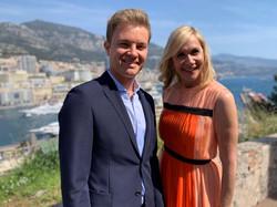 Tania and Nico Rosberg 1