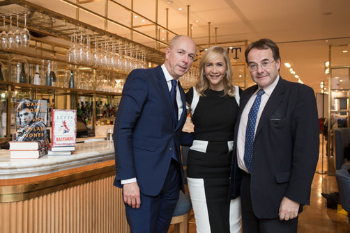 Selfridges Literary Lunch: Dylan Jones & Quentin Letts