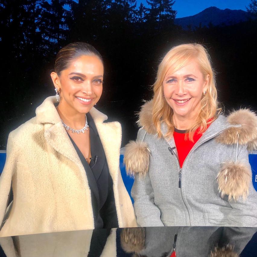 Tania and Deepika Padukone