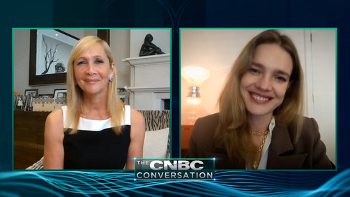 Watch full interview: Natalia Vodianova on Russia Covid-19, charity, fashion and marriage