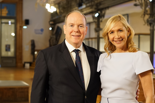 Watch: Tania meets H.S.H. Prince Albert II of Monaco