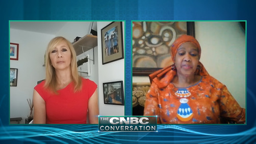 Premieres tonight: The CNBC Conversation - Phumzile Mlambo-Ngcuka
