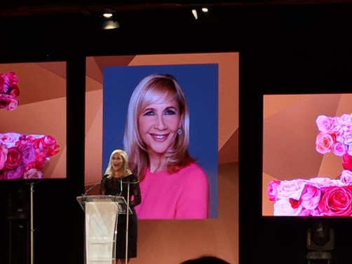 Tania: Supporting Alzheimer's Society at The Fragrance Foundation Awards
