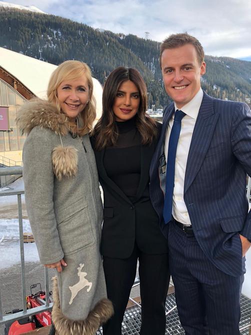 Tania at Davos 2020 (photos) - coverage coming soon!