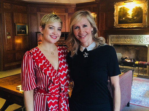 Tania talks to Hollywood star Kate Hudson - Coming soon on CNBCi