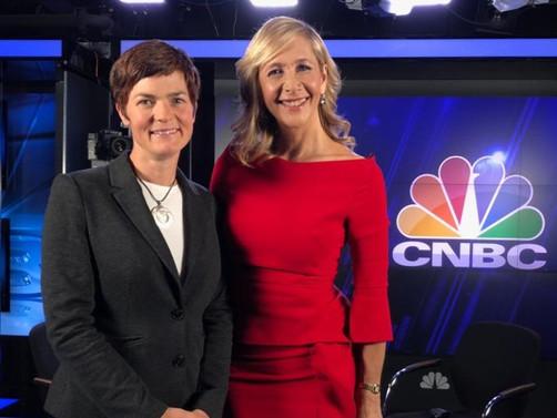 Tania talks to Dame Ellen MacArthur