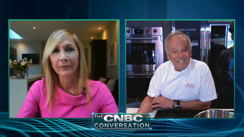Watch: Wolfgang Puck on Covid-19 impact on restaurant industry