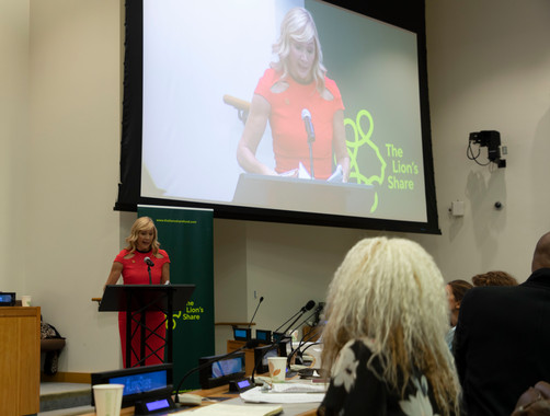 Tania at the United Nations (video)