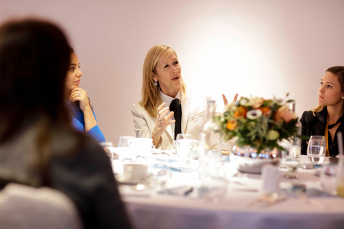 Tania hosts Sohn Conference Inaugural Women's Brunch (photos)