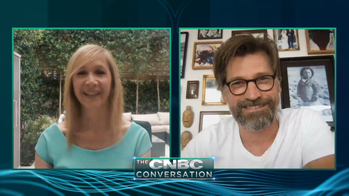 Premieres tonight: The CNBC Conversation - Nikolaj Coster-Waldau