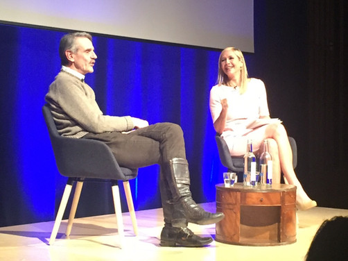 IN CONVERSATION: TANIA BRYER & JEREMY IRONS
