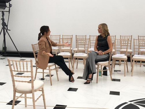 Tania talks to Victoria Beckham (video)