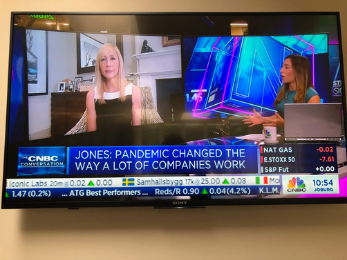 Watch: Tania live on CNBC's 'Street Signs' talking the future of media, fashion and reta