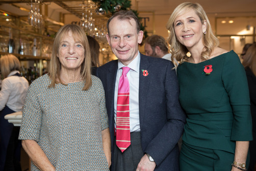 Selfridges Literary Lunch: Andrew Marr & Ruth Rogers