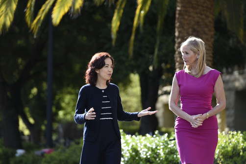 Watch: Tania meets Dr. Fei-Fei Li