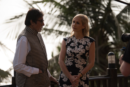Exclusive: Behind the scenes photos from tonight's Trailblazers: Amitabh Bachchan