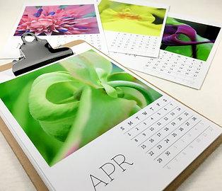 Botanicals Photo Calendar