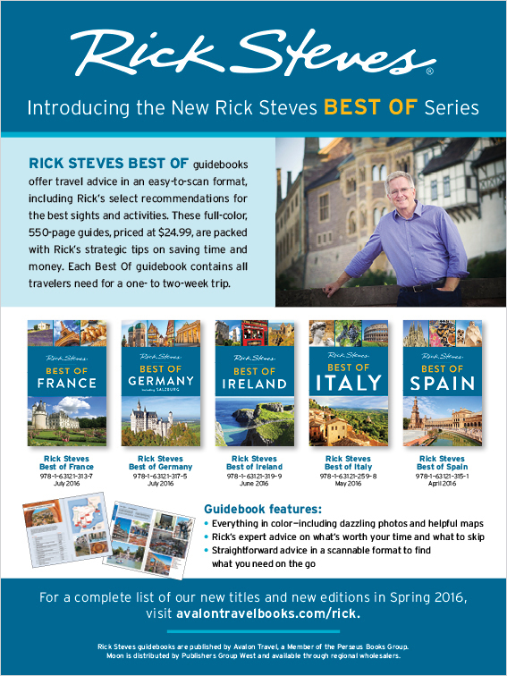 Rick Steves, Publishers Weekly