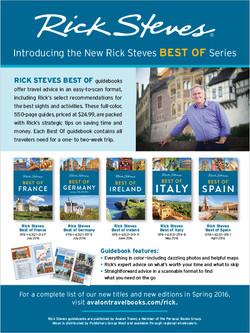 Rick Steves, Publishers Weekly