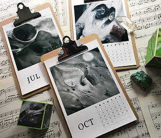 Skulls Photo Calendar