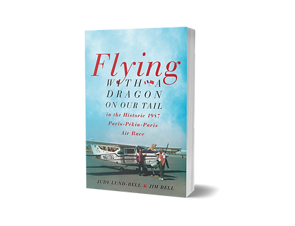 Flying with a Dragon on our Tail book co