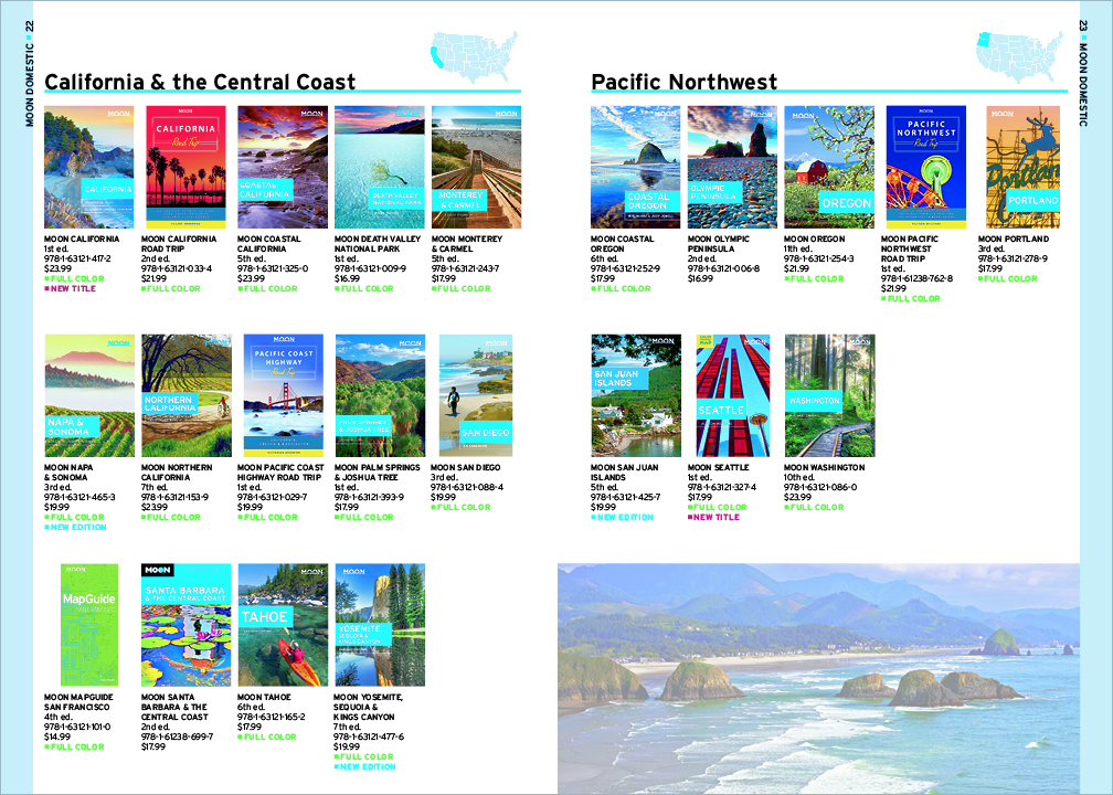 Avalon Travel Catalog - Moon