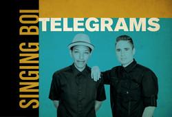 Singing Bois - Postcard Design-Front