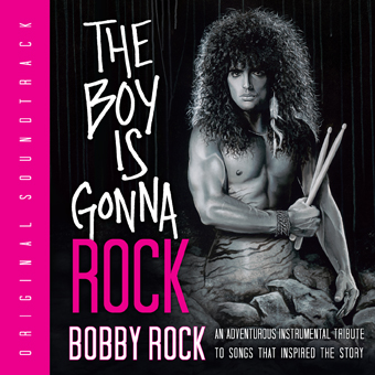 The Boy is Gonna Rock CD cover desig