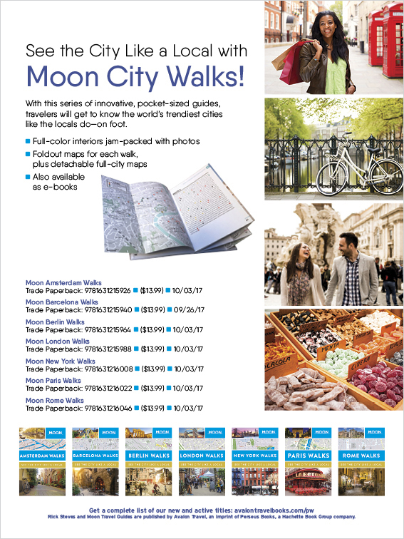 Moon City Walks - Publishers Weekly