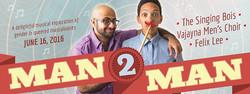 Man2Man web banner design