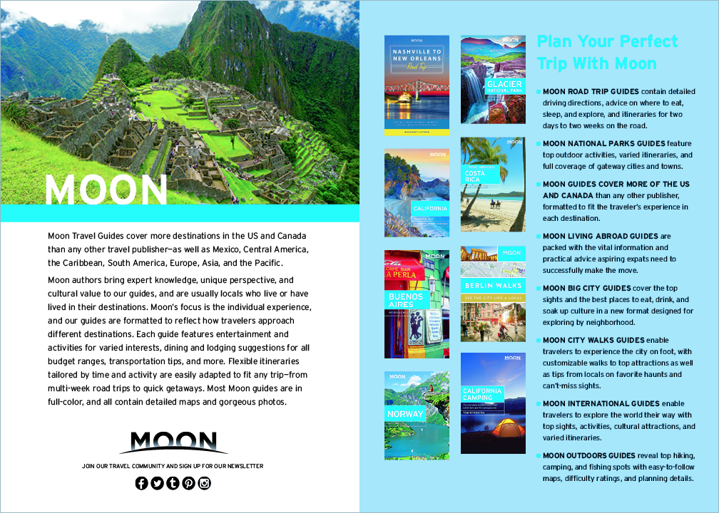 Avalon Travel catalogs, 2017-2019