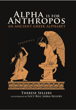"""book cover from """"Alpha is from Anthropos"""""""