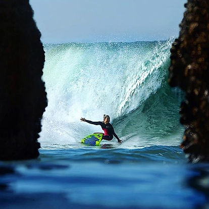 We are proud to support women's surfing